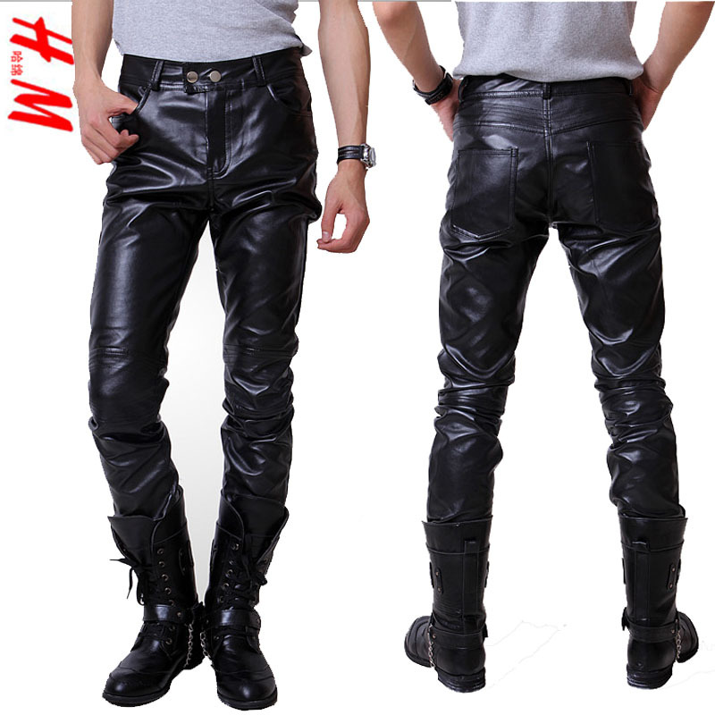 Are leather pants a good thing? Here is a warning to men who dare, leather pants can make a fool of anyone if worn incorrectly. It is a battle of wills: man vs. pants.