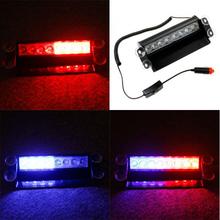8 LED car Vehicle Emergency Police Strobe Warning Flash Light lamp bulbs led flashing lighting with