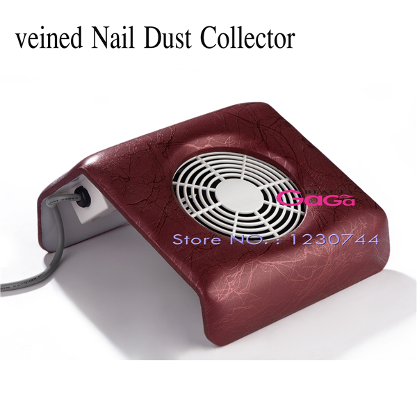 Beauty Acrylic UV Gel Dust Suction Strong Fan Nail Dust Collector Nail Gel Polish Manicure Tools Equipment Nail Art Tools(China (Mainland))