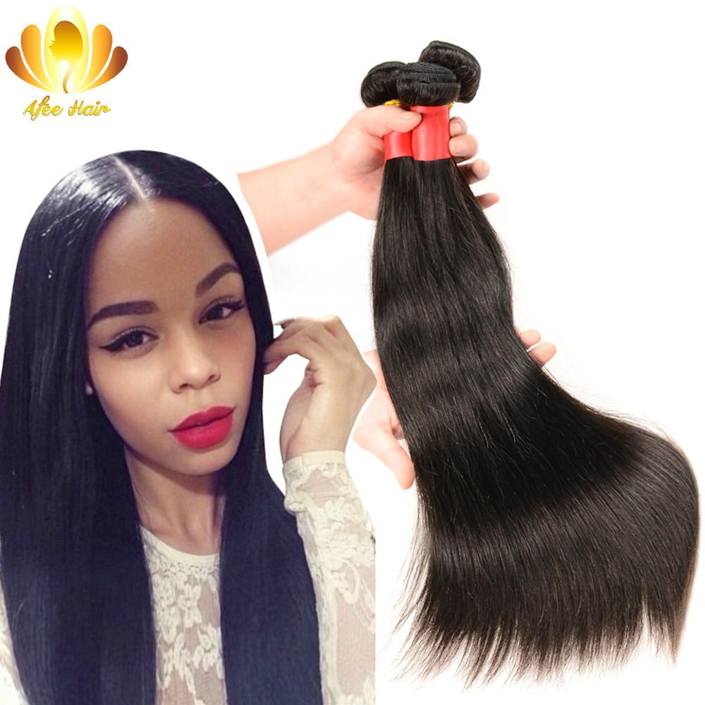 Peruvian Virgin Hair Straight 3 Pcs 6A Unprocessed Virgin Peruvian Straight Hair,Rosa Hair Products Cheap Human Hair Extension(China (Mainland))