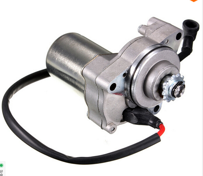 New 50cc 70cc 90cc 110cc i st01 electric starter motor for How to make an electric bike with a starter motor