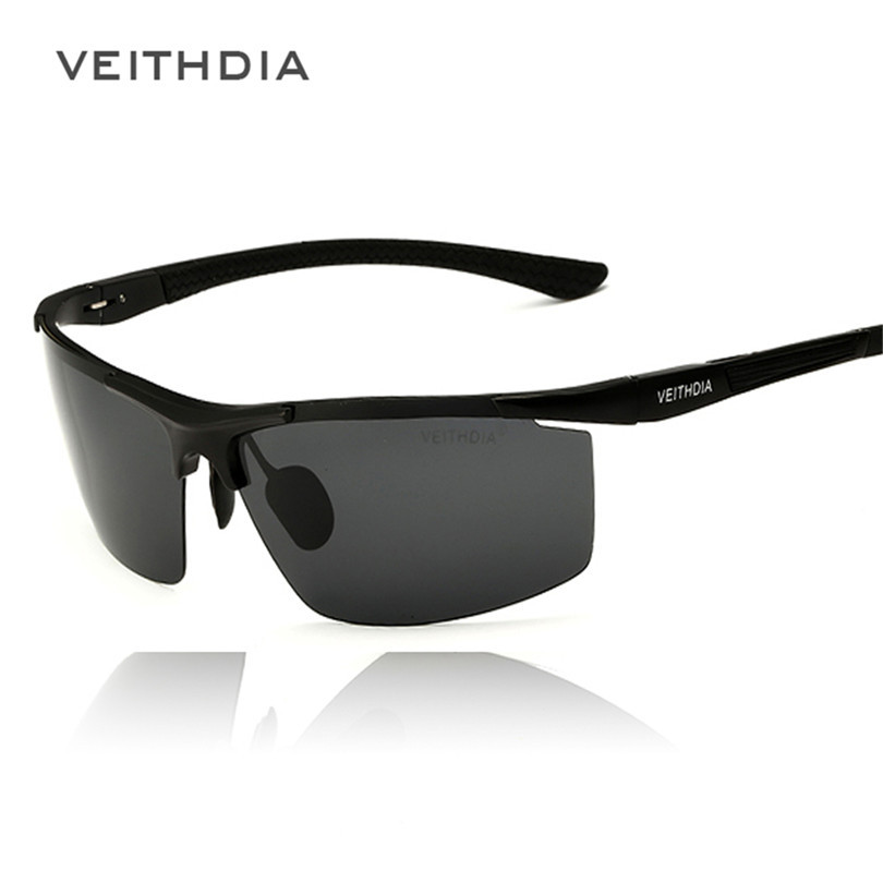 2015 Veithdia Aluminum Magnesium Sunglasses Polarized Sports Men Coating Mirror Driving Sun Glasses oculos Male Eyewear