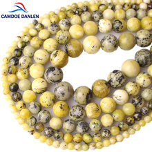 Natürliche Stein Achate Kristall Amethysten Lava Tiger Eye Lapis Lazuli Amazonit Rhodonite Runde Lose Perlen DIY Für Schmuck Machen(China)