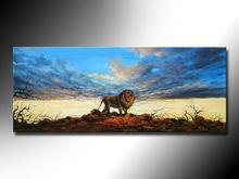 wholesale lion painting