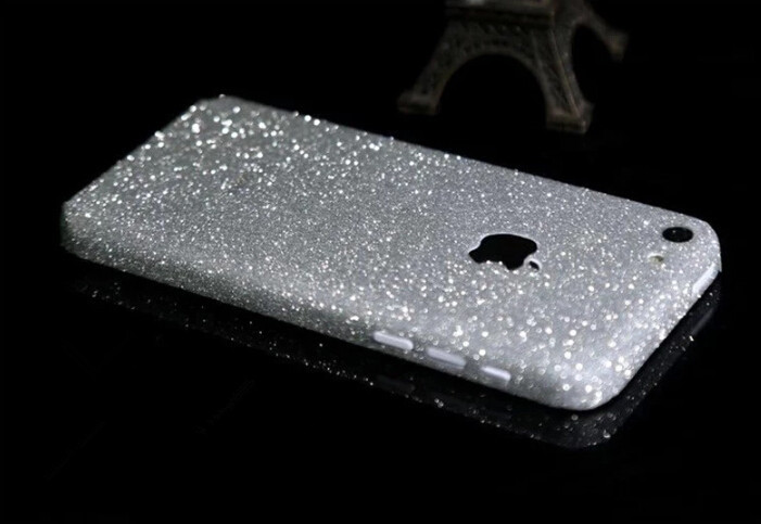 Colorful Sticker Case for iPhone 5C Cases Luxury Ultra Thin Cover case custom diamond shine 8 color(China (Mainland))