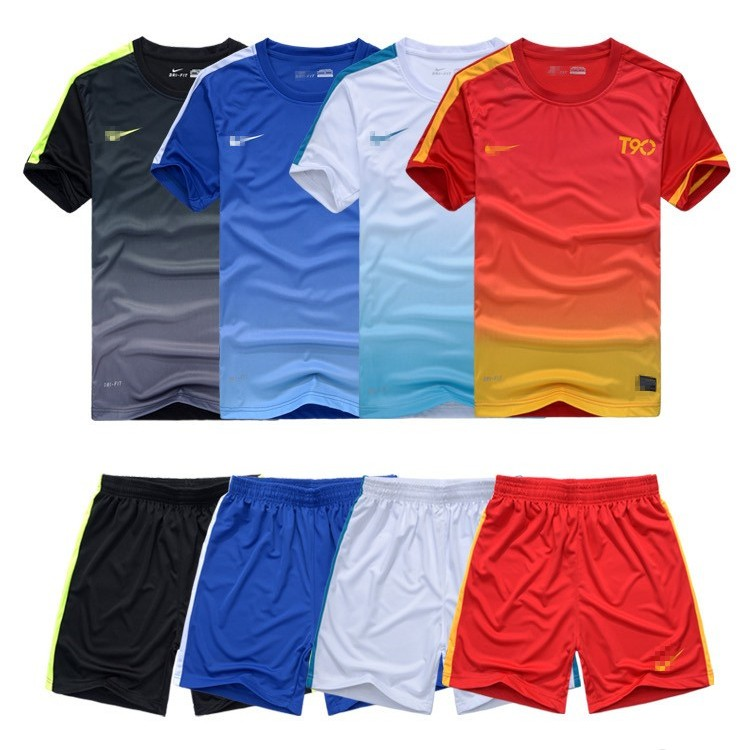 2014 new soccer clothes suit, light board soccer clothes fotball training suits, short-sleeved team,(China (Mainland))