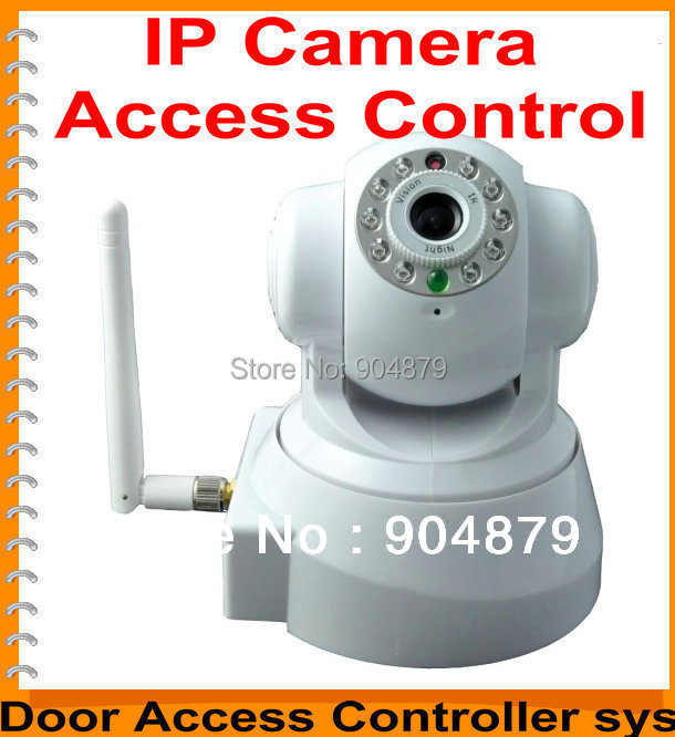 Digital Security IP camera CCTV can integrate working with Door Access controller Panel Board Web-based IP Controller Board(China (Mainland))