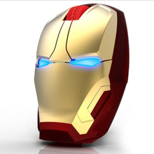 New Iron Man Mouse Wireless Mouse Gaming Mouse gamer Mute Button Silent Click 800/1200/1600 / 2400DPI Adjustable computer mice(China (Mainland))