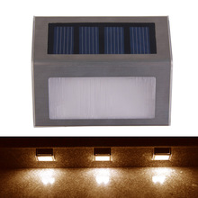Solar Wall Mounted Garden/Path/Outoor Lights IP44