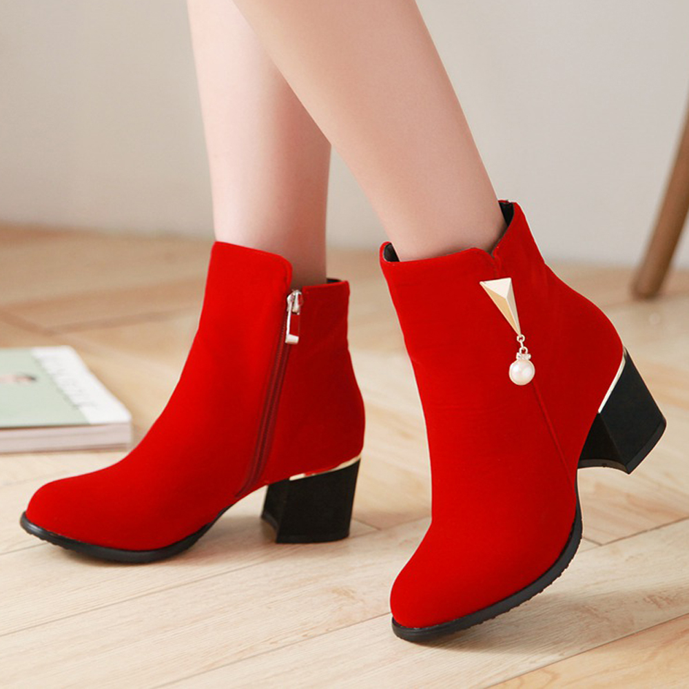 Red Ladies Heels