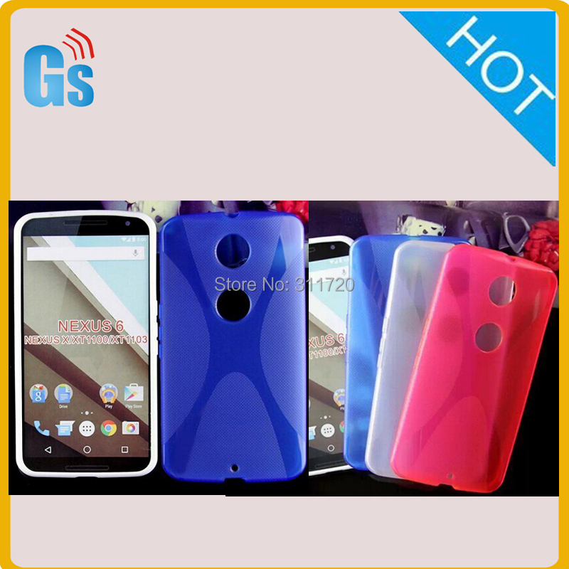 New Arrival Best Buy Tpu X Line Case For Motorola Nexus X XT1100 XT1103 For Google Nexus 6 Free Shipping(China (Mainland))