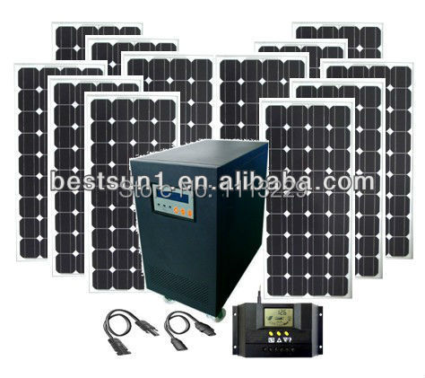 20000 W Excellent china new product solar power system Free maintenance type solar battery solar power system off grid(China (Mainland))