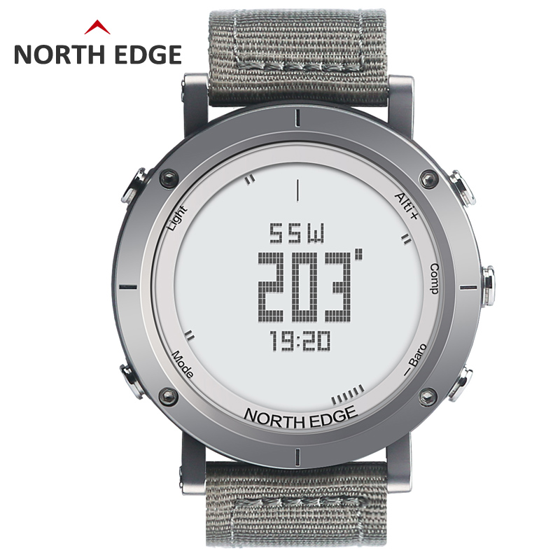 NORTHEDGE digital watches Men sports watch clock fishing Weather Altimeter Barometer Thermometer Compass Altitude hiking hours(China (Mainland))
