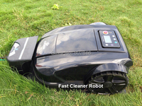 2015 newest electric Lawn mower Robot S520 with Password,Schedule,Language Option and Subarea Setting Function