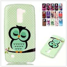 Water paste painting TPU case for LG K10 / K10 LTE K410 K420N K430 / M2 Case Silicone Gel Soft Protective Back Cover phone case