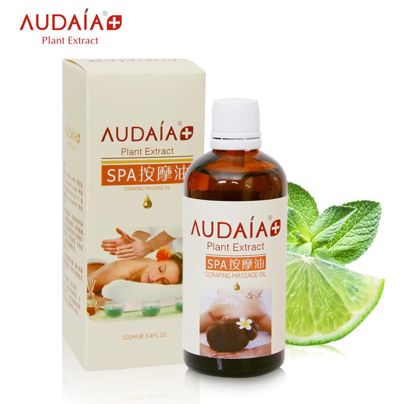 AUDALA SPA Essential Oil Improve Sleep Body Massage Neck Back Scraping Oils Body Massage Oil Health Beauty Skin Care 100ml(China (Mainland))