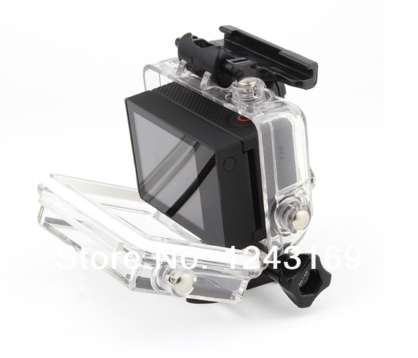 Bacpack Touched Panel LCD Screen Waterproof for Go Pro Hero 3 Camera