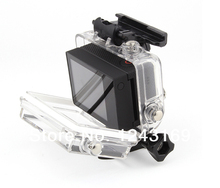 New Bacpac Touched Panel LCD Screen Waterproof Backdoor for GoPro Hero 3 Camera OS070