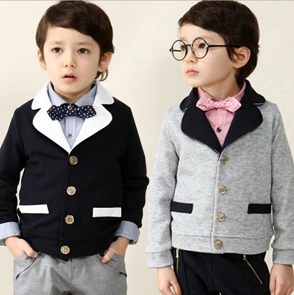 Spring and Autumn New pattern Boy suit for weddings Loose coat kids Jacket boys wedding clothes boys blazer children jackets(China (Mainland))