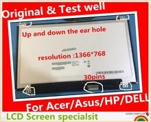 Оригинал + для ASUS X205 X205T X205TA из светодиодов дисплей 11.6 » LCD 30Pin тонкий испытание 100% хорошо