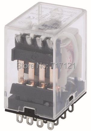 electromagnetic relay LHH54P/ omron relay MY4 12V/24V/48V/110V/220V.. 5pcs per lots free shiping.(China (Mainland))