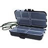 Outdoor Sports 9 Compartments Spoon Hooks Baits Tackle fishing Hook Box Plastic Fishing Lures Case 1DAT(China (Mainland))
