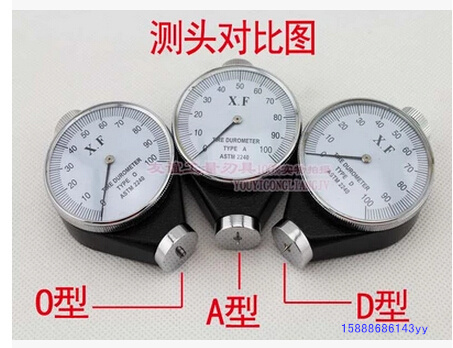 Hardness Tester XF durometer hardness of rubber hardness A or D or  O type<br><br>Aliexpress