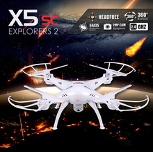 Syma x5sc 2.4G 4CH 6-Axis 2MP Professional aerial RC Helicopter Quadcopter Toys Drone With Camera syma x5c upgraded