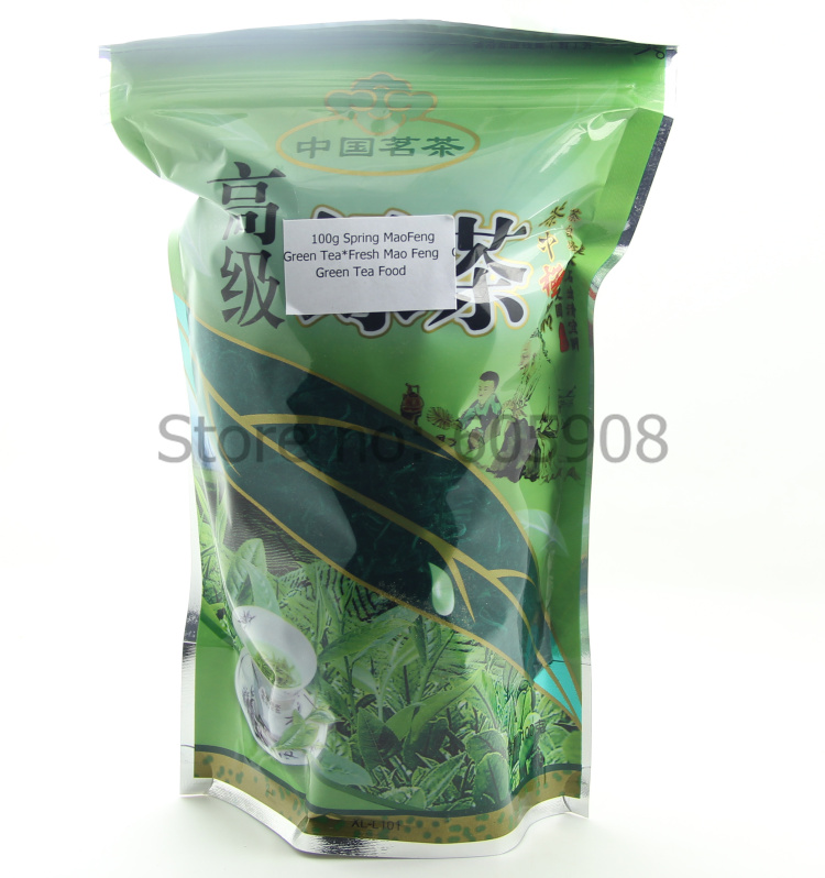 100g Spring MaoFeng Green Tea Fresh Mao Feng Green Tea Food