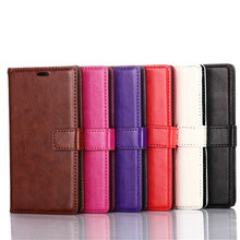 "Buy Hot Retro Luxury Leather Case Coque Sony Xperia E3 4.5"" Stand Wallet Flip Back Cover Funda Sony Xperia E3 Phone Bag Capa for $4.99 in AliExpress store"