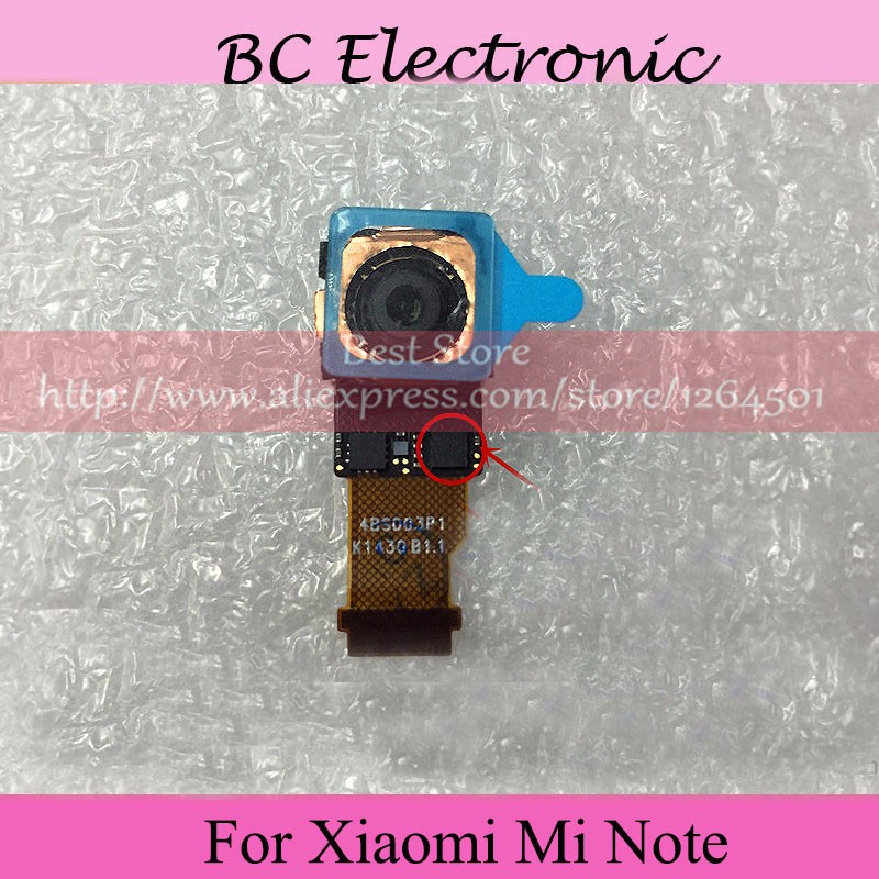A+Quality Back Camera For Xiaomi Mi Note Big Camera Module Replacement Parts 100% Tested free shipping