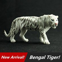 Hot Sale Wild Animal Bengal Tigers Model Action Figures Toys Simulation Tiger Toy For Collection And Kids Gifts Children's gift(China (Mainland))