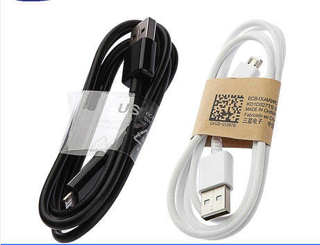 Good Quality 1M Micro USB Data Cable charger adapter Samsung Galaxy S4 S3 III Note 2 II I9500 I9300 white - cn1510578731 store