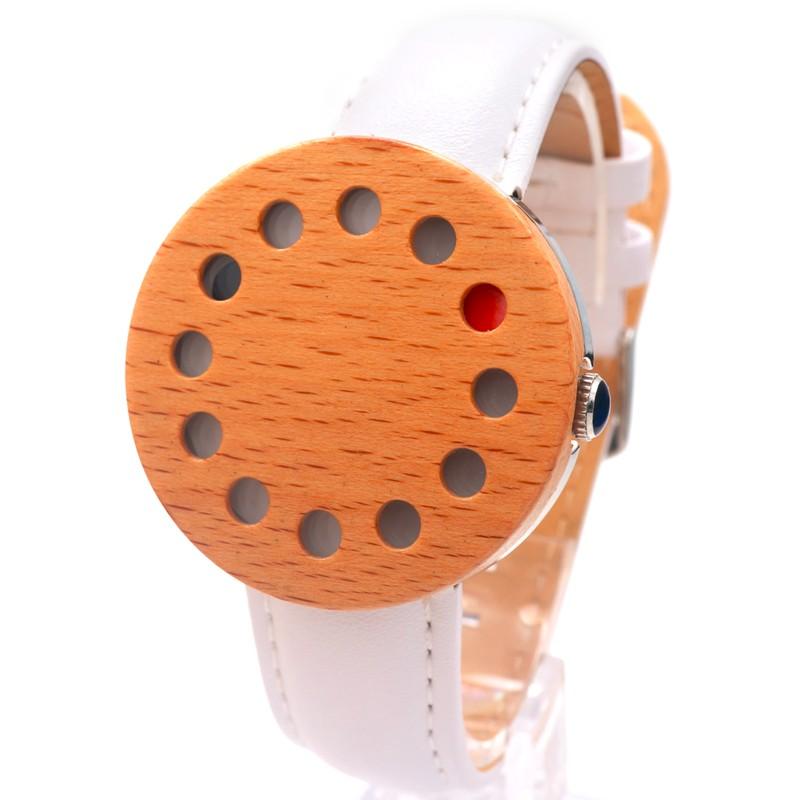 БОБО ПТИЦА Деревянные Часы Япония Кварцевые Часы для Мужчин и для Женщин С Натуральной Кожи Группа Древесины Наручные Часы в качестве Подарков