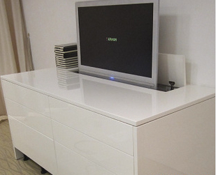 free shipping for Swivel tv Lift can be lift 600mm wit modern tv wall unit furniture(China (Mainland))