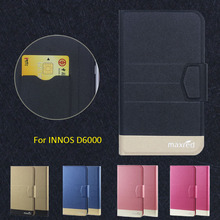 2016 Super! INNOS D6000 Phone Cases, 5 Colors Factory Direct High quality Luxury Ultra-thin Leather Case for INNOS D6000