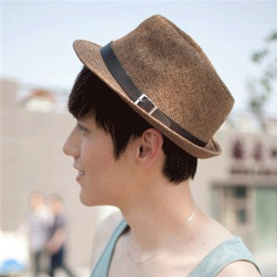 new 2016 summer New Korean England Fashion brand sun hats men's Wide Brim Floppy Summer Beach cool Caps for men boys(China (Mainland))