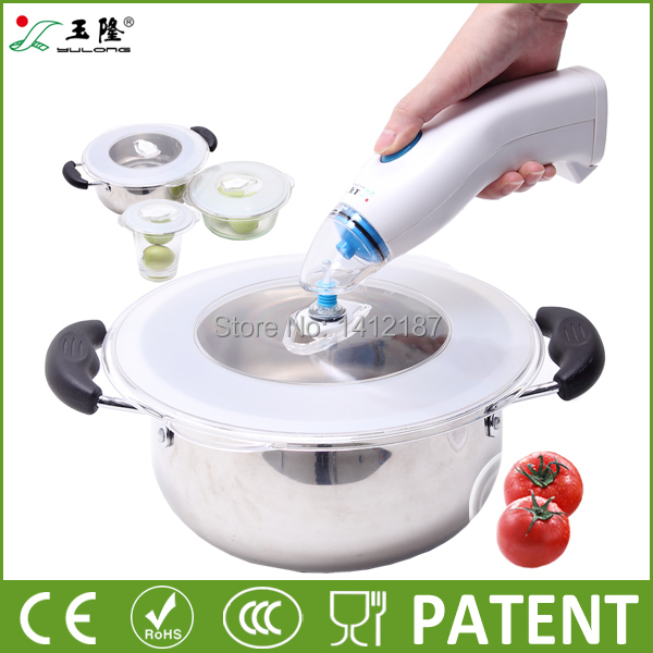 Free shipping universal vacuum lid for food storage,vacuum cover can keep food fresh much longer(China (Mainland))