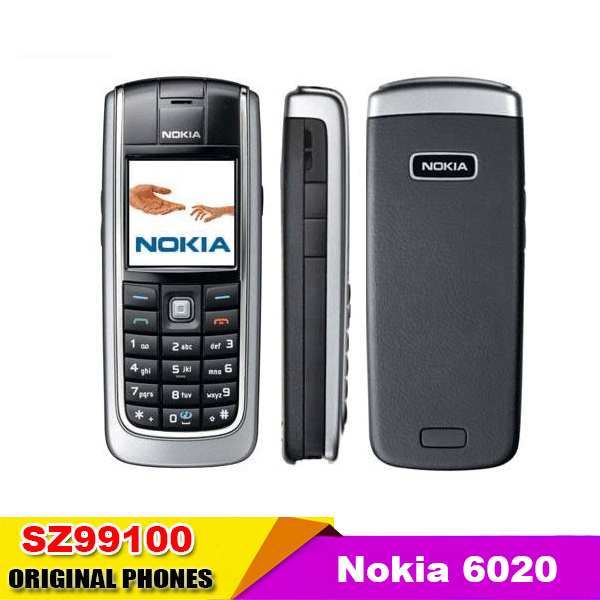 Nokia 6020 Original Unlocked mobile phone Triband Camera Vedio JAVA Cheap Cell Phone refurbished free shipping(China (Mainland))