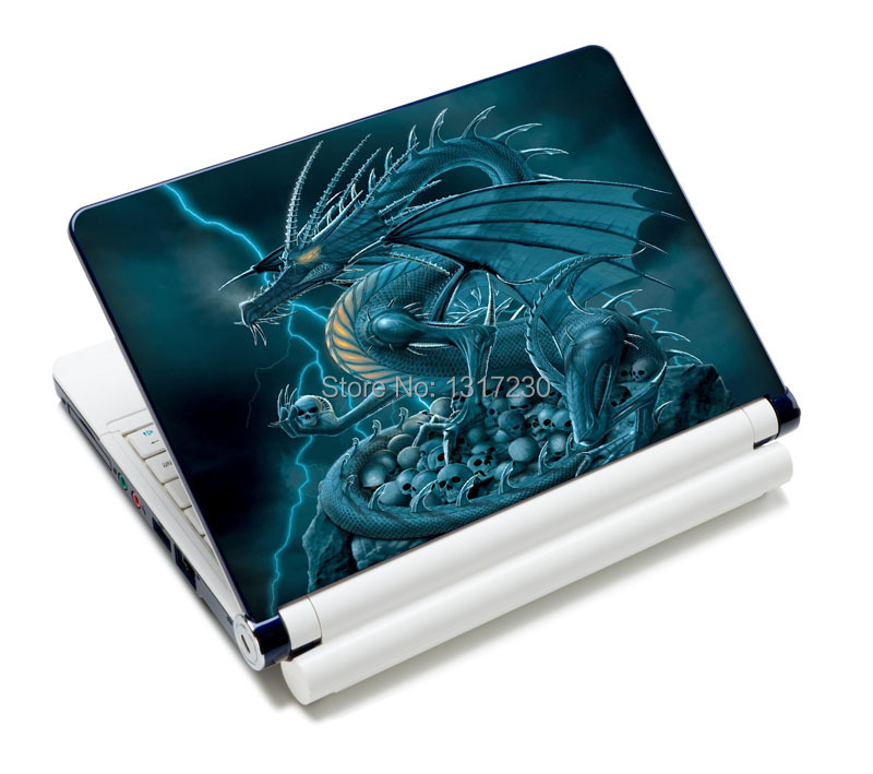 Cool Notebook Cover : Cool dragon patterm laptop decal cover sticker skin