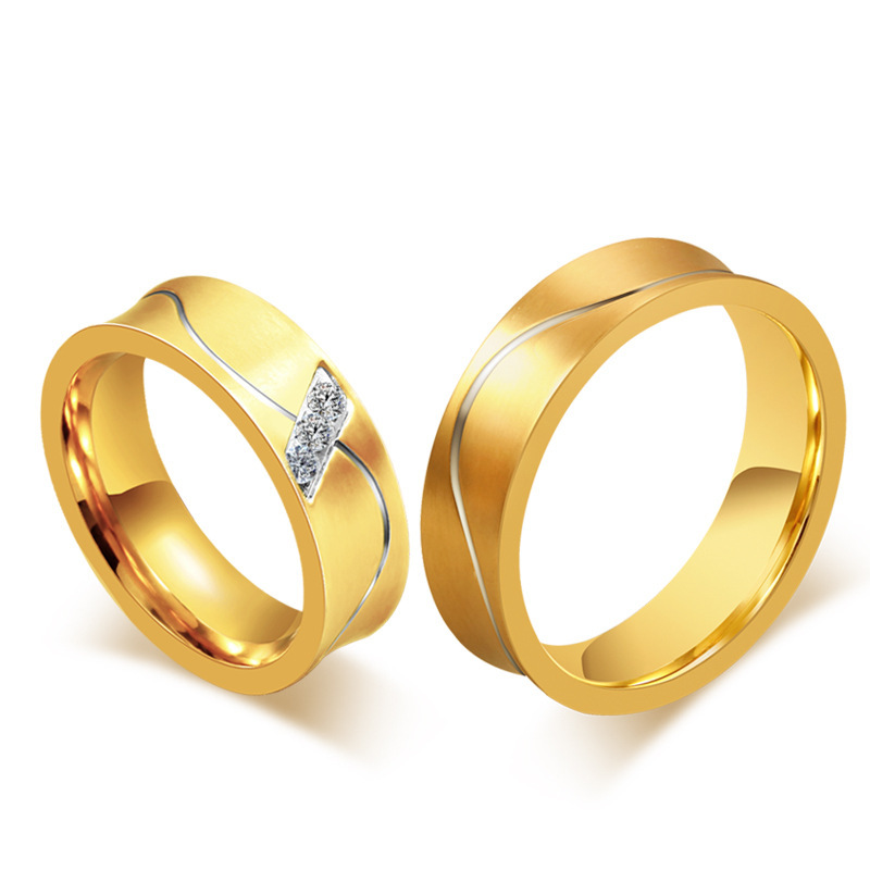 Ring sample picture more detailed picture about gold for Wedding rings for male and female