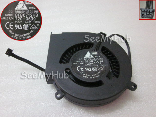 Free Shipping For Delta BFB0712HB -SM00 For Apple P/N : 720-0639 Server Blower Fan DC12V 0.33A 70x70x15mm 3wire(China (Mainland))