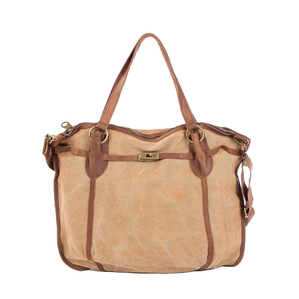 High Grade Large Women Canvas Bags Militaty Sport Shoulder Bags for Women Vintage Hobos Bag Mujer Outdoor Camping Crossbody Bag(China (Mainland))