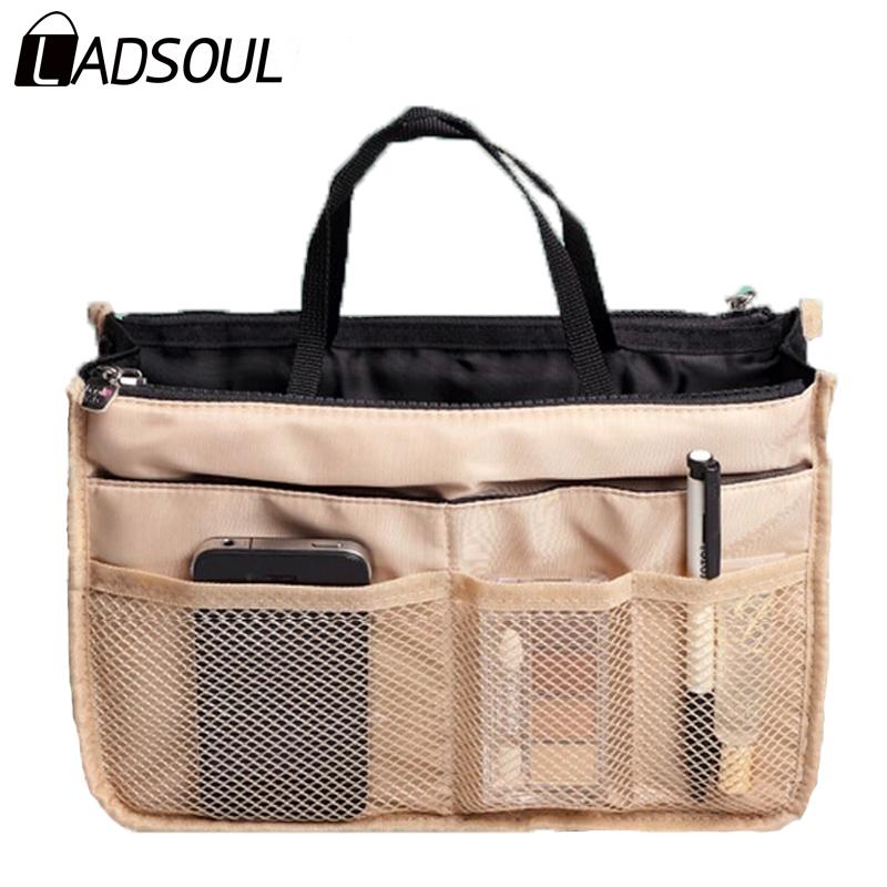 New 2015 Nylon Multifunction Make up Makeup Organizer bag Women Cosmetic bags Ourdoor Travel Bag Handbag Bolsas LM2136(China (Mainland))