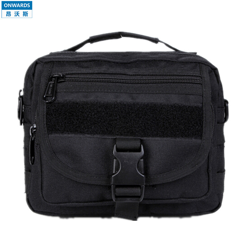 ONWARDS Outdoor Tactical Black Messenger Bags Mens Military Camping 1000D Waterproof  Molle Camouflage Bolsas Hunting Equipment