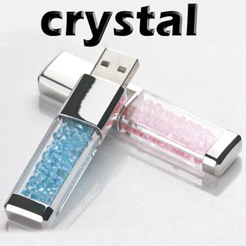 Crystal USB Flash Drive 16GB High Speed USB 3.0 Flash Pen Drive 16GB Gift USB Key Flash Memory Stick 16GB Free Shipping(China (Mainland))