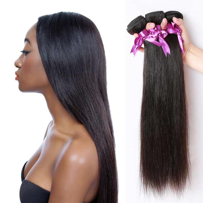 Brazilian Virgin Hair Straight 4 Bundles Unprocessed Virgin Brazilian Straight Hair Rosa Hair Products 7A Brazilian Virgin Hair