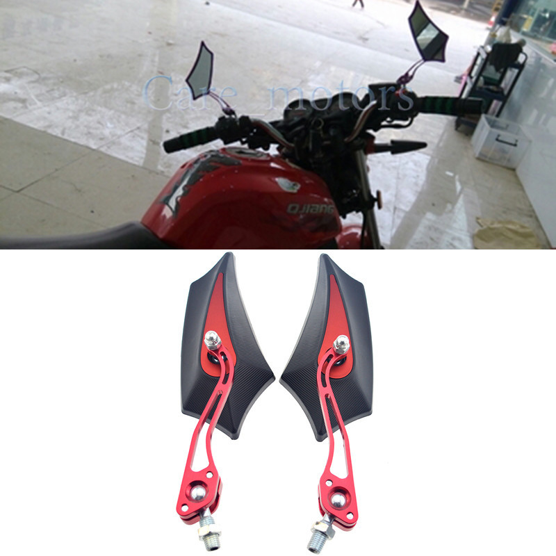 New Arrival Universal Motorcycle Rear Mirror Side Mirror For Kawasaki Suzuki Honda Yamaha Scooter Parts Motorcycle Accessories(China (Mainland))