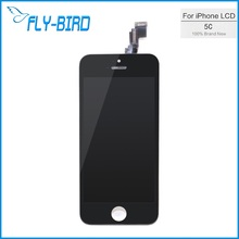 10PCS/LOT AAA Quality For Apple iPhone 5C Display Screen LCD Assembly With Original Digitizer Glass No Dead Pixel Free Shipping