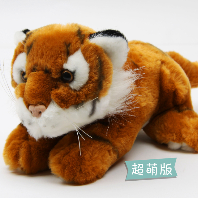 Plush toy artificial tiger dolls artificial tiger doll plush tiger toy birthday gift